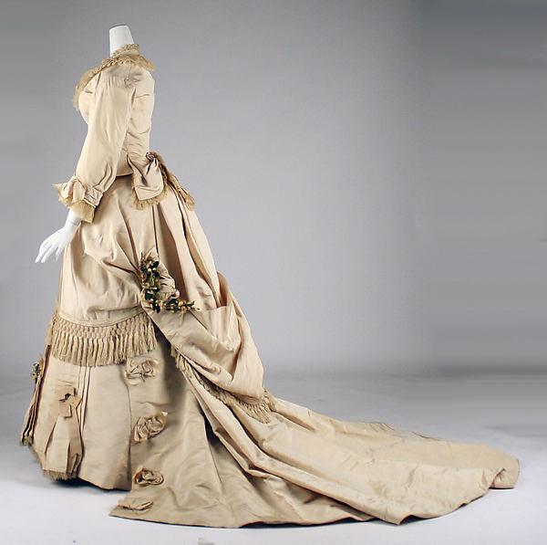 Making My Victorian Wedding Dress Part 1: Wedding Dresses Of The 1870s