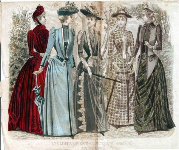1890s Style Day Wear Part 1 Lily Absinthe